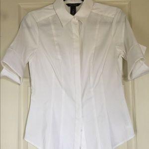 White House Black Market Short-Sleeved Shirt